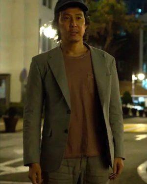 Lee Jung-Jae TV Series Squid Game 2021 Seong Gi-hun Gray Blazer