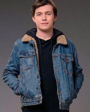 Nick Robinson Love Simon Denim Jacket
