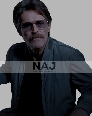Willem Dafoe The Card Counter Cotton Bomber Jacket