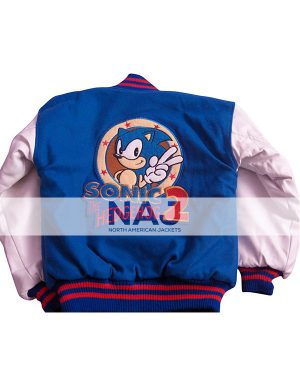 Sonic the Hedgehog Blue and White Jacket