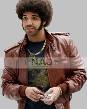 Soul Brother Anchorman 2 The Legend Continues Drake Leather Jacket