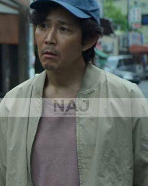 Lee Jung-Jae Squid Game 2021 Bomber Cotton Jacket
