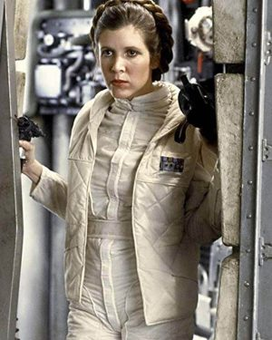 Star Wars the Empire Strikes Carrie Fisher Back 5 Carrie Fisher Vest