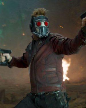 Chris Pratt Guardians of the Galaxy Vol. 2 Leather jacket