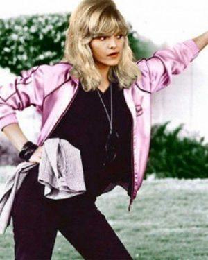 """Michelle Pfeiffer Grease 2 Pink Ladies Jacket """