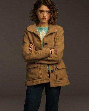 Nancy Wheeler Stranger Things Season 3 Wool Jacket