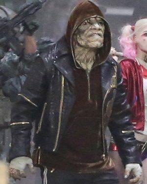 Suicide Squad Killer Croc Leather Jacket