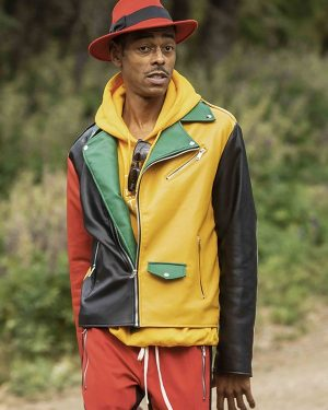 Teck Holmes The Challenge All Stars Teck Holmes Leather Jacket