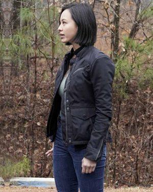 Levy Tran MacGyver Desi Nguyen Black Cotton Jacket