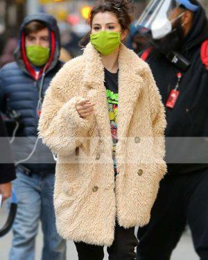 Selena Gomez Only Murders in The Building Mabel Mora Fur Coat