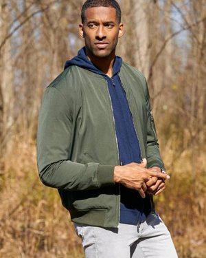 Matt James The Bachelor Green Bomber Jacket