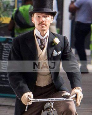 Benedict Cumberbatch The Electrical Life of Louis Wain Black Coat
