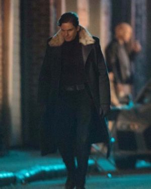 Daniel Bruhl The Falcon and The Winter Soldier Trench Coat