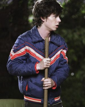 Charlie McDermott The Middle Axl Heck Blue Jacket