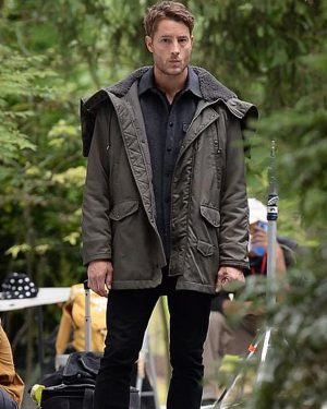 Justin Hartley The Noel Diary Hooded Jacket