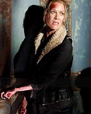 Laurie Holden The Walking Dead Leather Vest