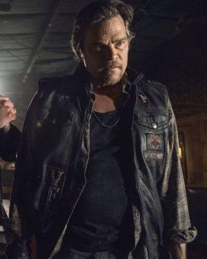 The Walking Dead S10 Baxter Black Vest