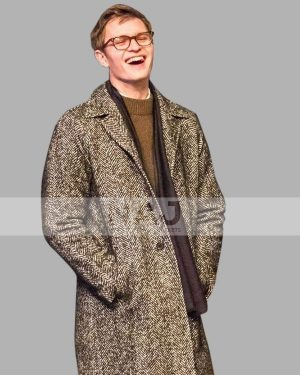 Theodore Decker The Goldfinch Ansel Elgort Wool Trench Coat
