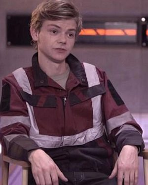 The Death Cure Newt Maze Runner Red Jacket