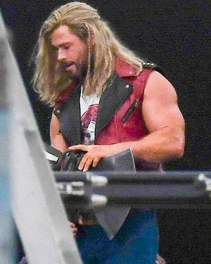 Thor Love and Thunder Chris Hemsworth Thor Leather Vest