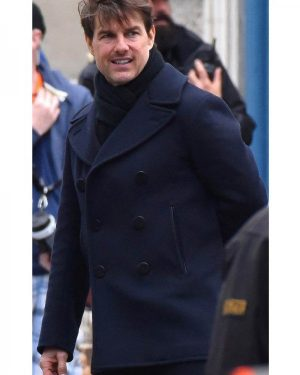 Ethan Hunt Mission Impossible 6 Wool Coat