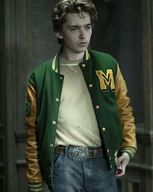 Austin Abrams scary Stories to Tell in The Dark Varsity Jacket