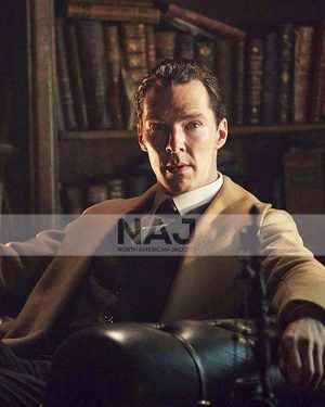 Benedict Cumberbatch Sherlock Holmes 2009 Wool Brown Coat