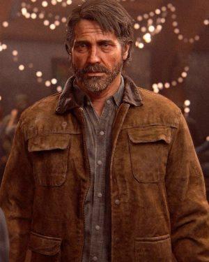 Joel Miller Sony The Last of Us Series Leather Jacket