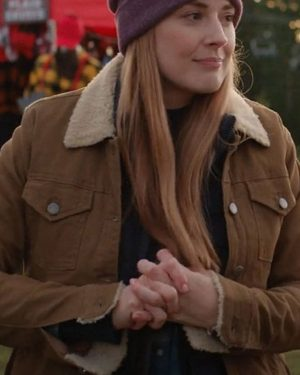 Alexandra Breckenridge Virgin River Brown Jacket
