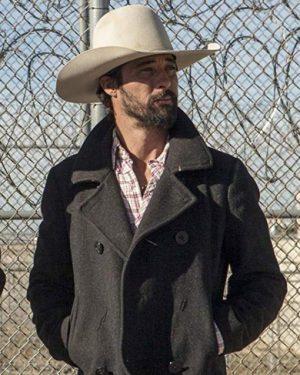 TV Series Yellowstone Walker Wool Pea Coat