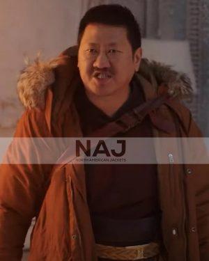 Benedict Wong SpiderMan No Way Home Cotton Fur Jacket