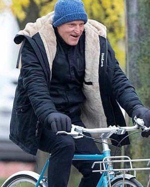 The Man From Toronto Woody Harrelson Shearling Jacket