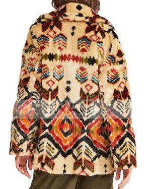 Waverly Earp Wynonna Earp Season 04 Shearling Coat