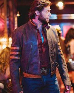 Hugh Jackman X-Men Leather Jacket