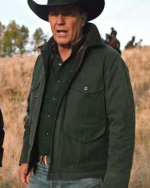 Yellowstone Season 2 John Dutton Green Jacket