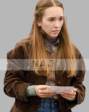 Manifest Season 03 Holly Taylor Brown Corduroy Jacket