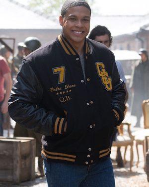Victor Stone Gotham University Cyborg Jacket