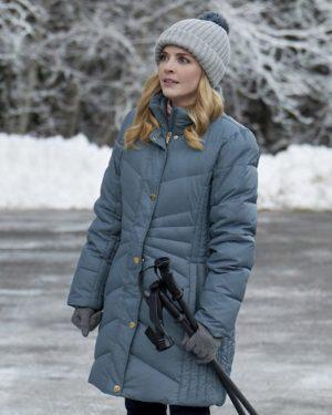 Kate Snowkissed Blue Puffer Jacket