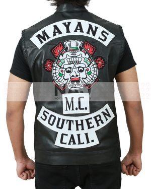 Southern Cali Mayans MC Leather Vest