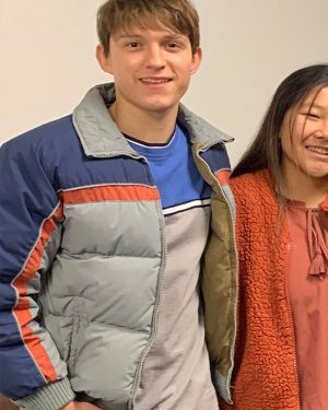 Tom Holland Cherry 2021 Tricolor Jacket