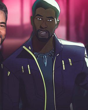 What If Star Lord Chadwick Boseman Leather Jacket