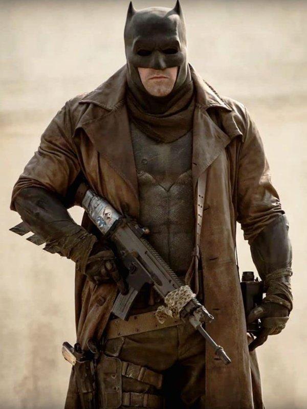 Zack Snyder's Justice League Batman Trench Coat